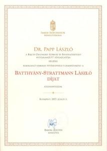 Batthyány-Strattmann díj