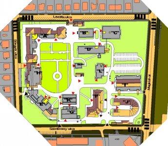 Kórházunk térképe